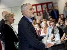 Dearne Valley students quiz Labour leader Jeremy over EU