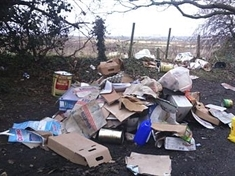 Fly-tippers evade council by giving false details