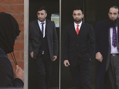 Six men face jail for 'vile' sex offences against two girls in Rotherham