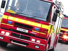 Firefighters attend two arson attacks