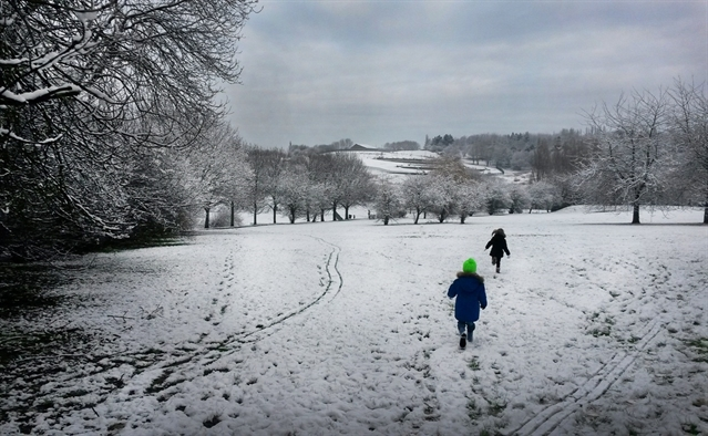 Ice and snow warning for Rotherham