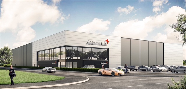 Supercar giant McLaren's £50m investment in Rotherham