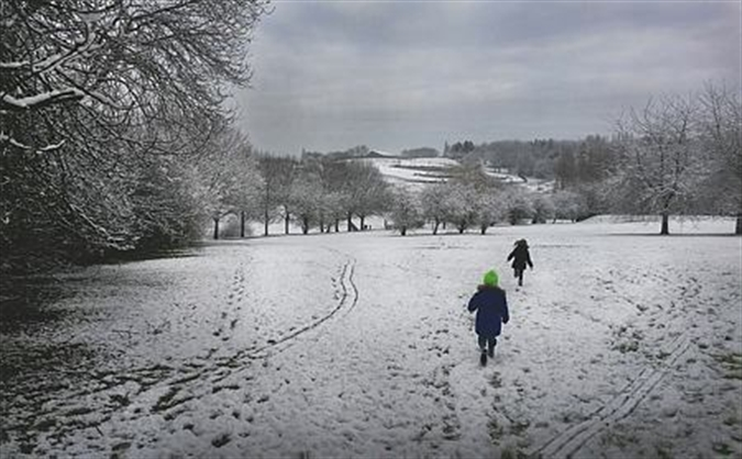 Snow warning for Rotherham