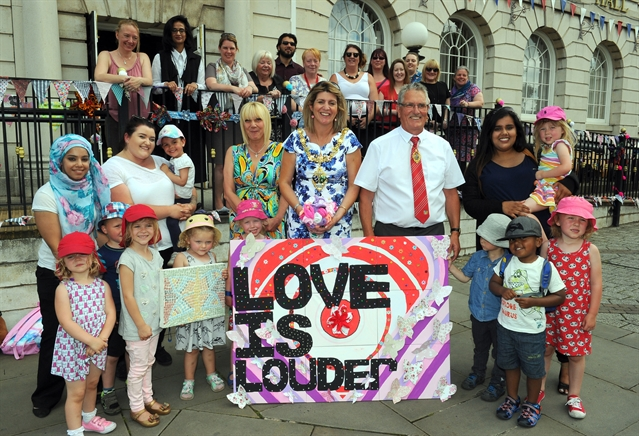 Love is Louder in Rotherham thanks to award-nominated project