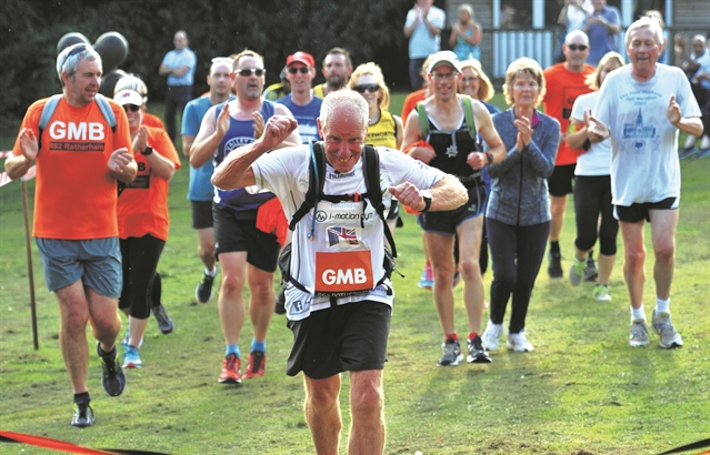 Lace up your running shoes with marathon man Ray at charity run
