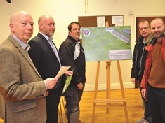 Church plans back with multi-million pound football facilities