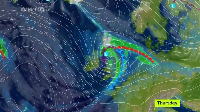 Storm Doris now a 'weather bomb' as it approaches Rotherham