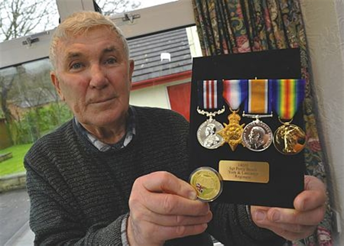 'My grandad was more proud of his bullet wound than his medals'