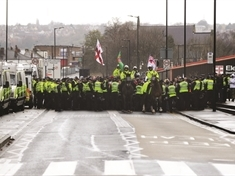 Four charged after EDL demonstration in Rotherham