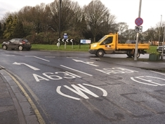 Council criticised over 'confusing' markings at Wickersley roundabout
