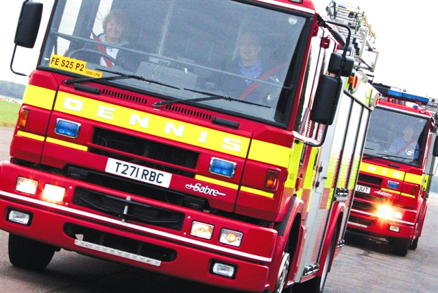 Two deliberate fires overnight