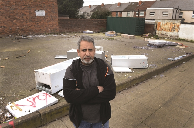 Time to get a grip on fly-tipping, Eastwood mosque officials tell council