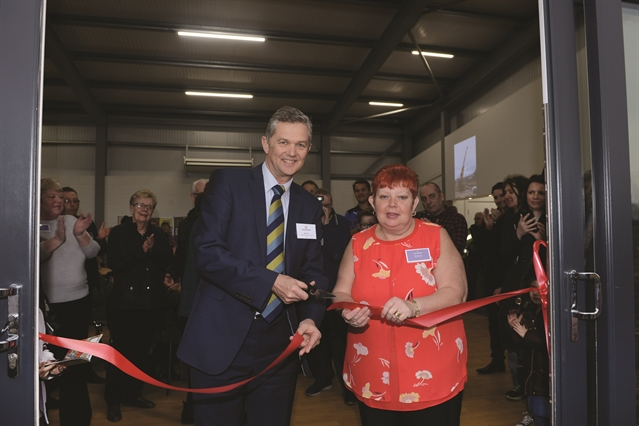 VIDEO: Community celebrates opening of Thurcroft Hub sports centre