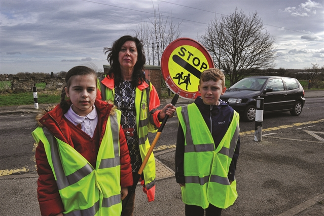 Sponsorship plea to pay for school lollipop lady