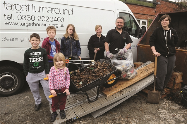 Canklow clean-up carried out by volunteers