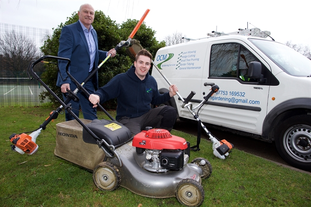 Enterprise fund could help young gardener's business blossom