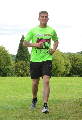 Former soldier Richard to lace up for marathon