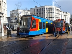 Tram-train tests begin in South Yorkshire