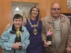 Generous couple's £30,000 boost to Mayor's fundraising