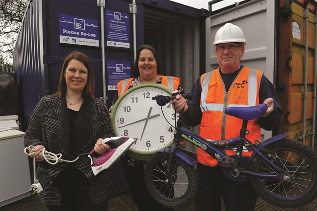 Donate old items for recycling in Rotherham