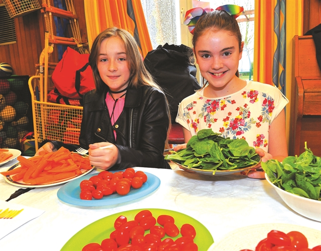 Slap-up food festival feast at Anston Greenlands Primary School
