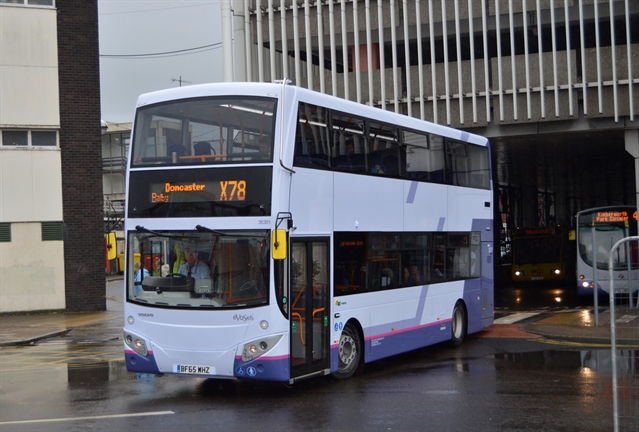 Bus fares to rise in Rotherham
