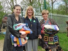 Knitters keep Rotherham Dog Rescue pooches warm and cosy