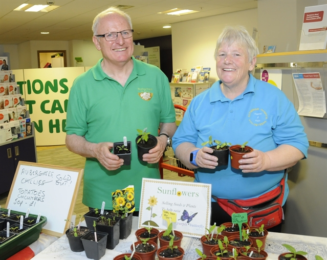 Grow your own celebration to be held at floral and vegetable fair