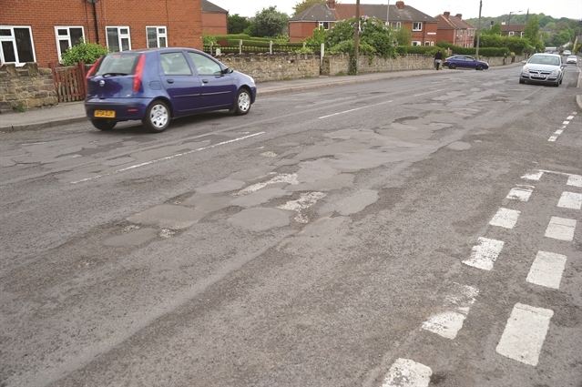 Thrybergh: The pothole capital of Rotherham - readers say