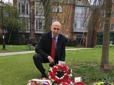 Tributes paid on at Workers' Memorial Day service