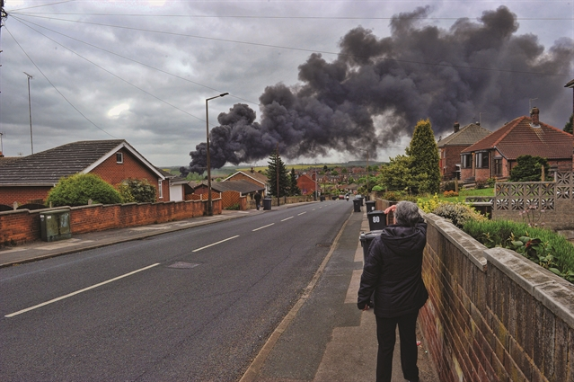 Community centre used for evacuation after major blaze