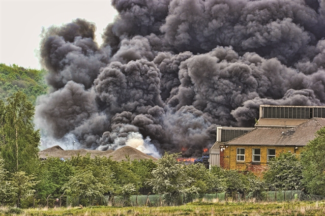 Residents return home after recycling plant blaze