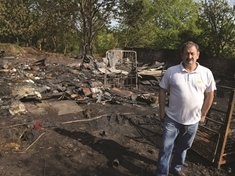 Garden centre remains open after arson attack