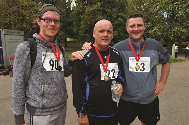 VIDEO: Clifton Park fun run raises £1,000 for Age UK Rotherham