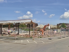 Forge Island supermarket demolition almost complete