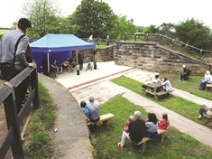 Amphitheatre opens up at Ulley Country Park