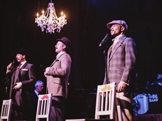 Swing-savvy twins bring cool Crooners to CAST