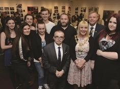 Students on other side of the camera for new exhibition