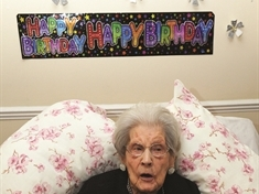 Happy 113th birthday Bessie - Britain's oldest resident