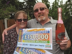 VIDEO: Lottery winner relives £450,000 magical moment