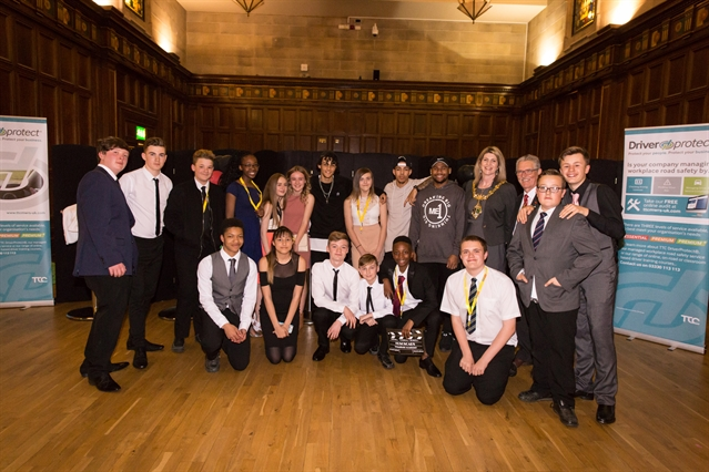 Wingfield students' red carpet success at Road Safety Oscars