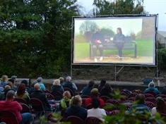 Open-air cinema calls by Rotherham town centre