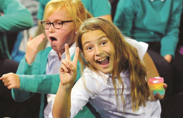PHOTO GALLERY: Pupils in tune at One Voice concert