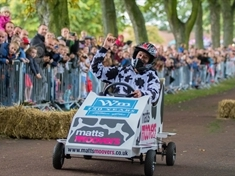 Hospice soapbox derby scoops national award