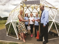 Green school launches cutting-edge biodome