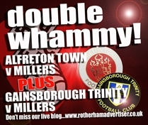 MATCHDAY LIVE: Follow the Millers to Alfreton AND Gainsborough