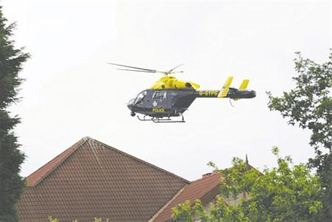 Officers used police helicopter to film swingers having sex in garden