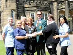 Golfers 'club' together for Rotherham Hospital charity