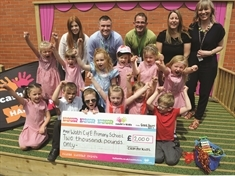 New stage at Wath playground thanks to charity grant
