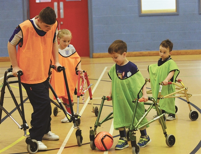 Special football sessions to ensure everyone can get their kicks